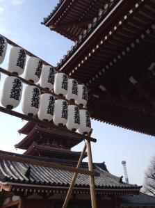 A look at old Japan: the Asakusa Shrine